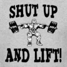 SHUT UP AND LIFT's picture